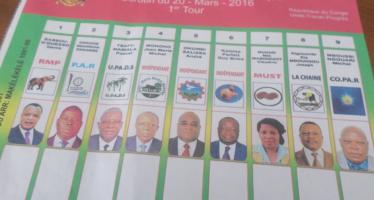 Présidentielle au Congo: le spécimen du bulletin de vote présenté à la CNEI