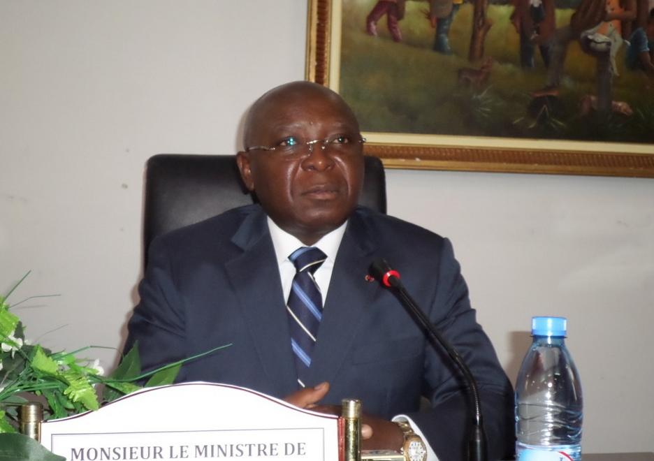 Le ministre de l'Intérieur et de la décentralisation, Raymond Zéphirin Mboulou|DR