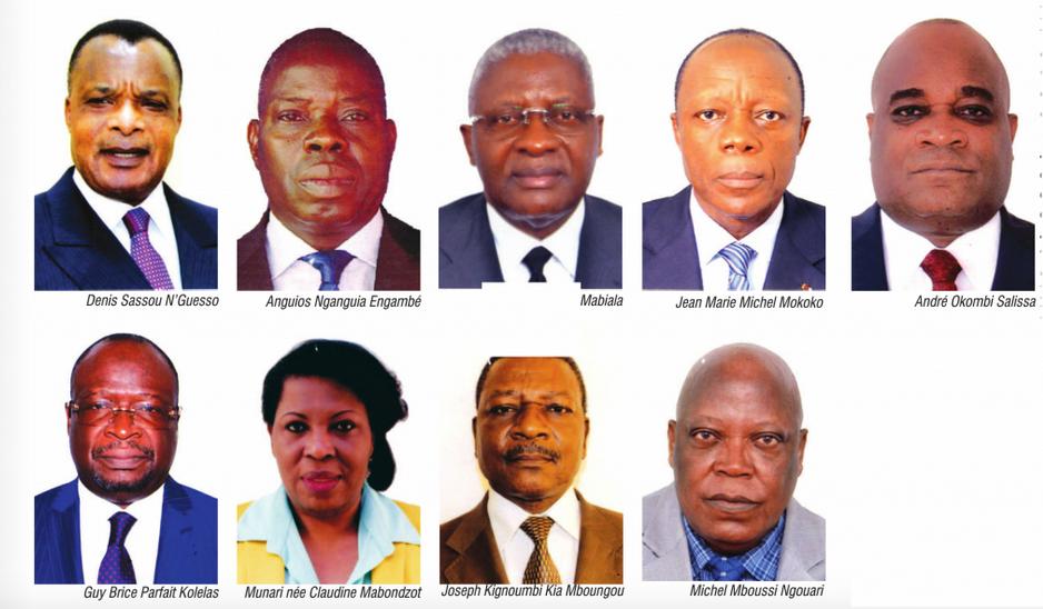 Les Neuf candidats retenus pour l'élection présidentielle du 20 mars au Congo