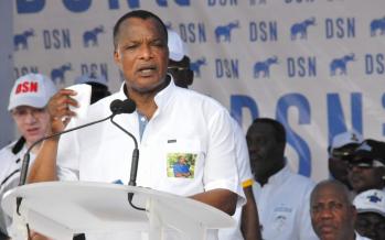 Présidentielle au Congo: Sassou promet la construction du plus grand barrage hydroélectrique du pays