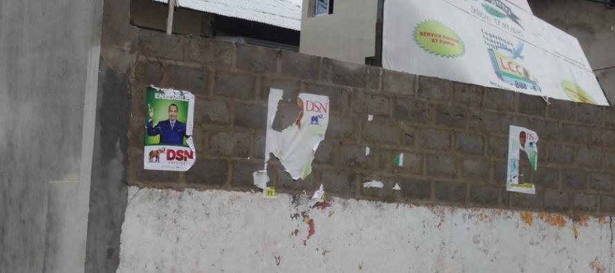 Présidentielle au Congo: le PCT dénonce des actes de vandalisme contre les affiches de Sassou