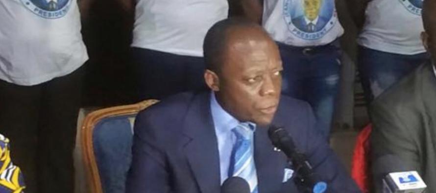 Présidentielle au Congo: Mokoko veut s'attaquer au chômage endémique des jeunes congolais