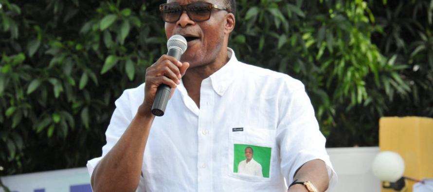 Présidentielle au Congo: le candidat Sassou présente les principaux axes de son projet de société