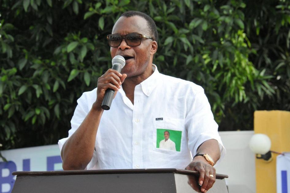 Le président sortant congolais, Denis Sassou N'Guesso