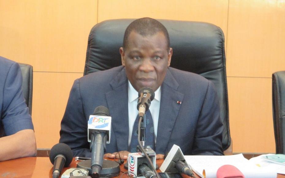Le président de la Commission nationale électorale indépendante (CNEI) du Congo, Henri Bouka