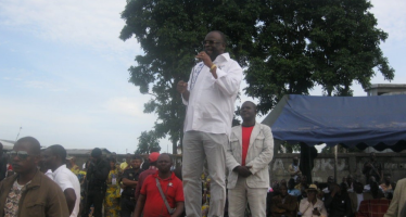 Pointe-Noire – Présidentielle au Congo: Parfait Kolélas dévoile son projet de société