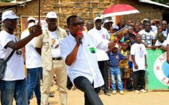 Présidentielle au Congo: la danse de Sassou pour clôture la campagne à Gamboma