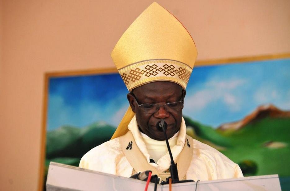Mgr Anatole Milandou, archevêque de Brazzaville