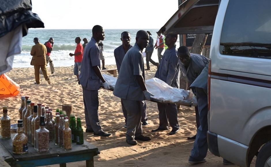 Le président ivoirien a décrété lundi un deuil national de trois jours après l'attaque terroriste qui a fait 22 morts à Grand-Bassam