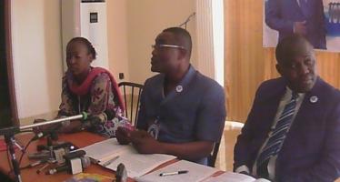 Présidentielle au Congo: le projet de société du candidat Parfait Kolélas expliqué à la presse