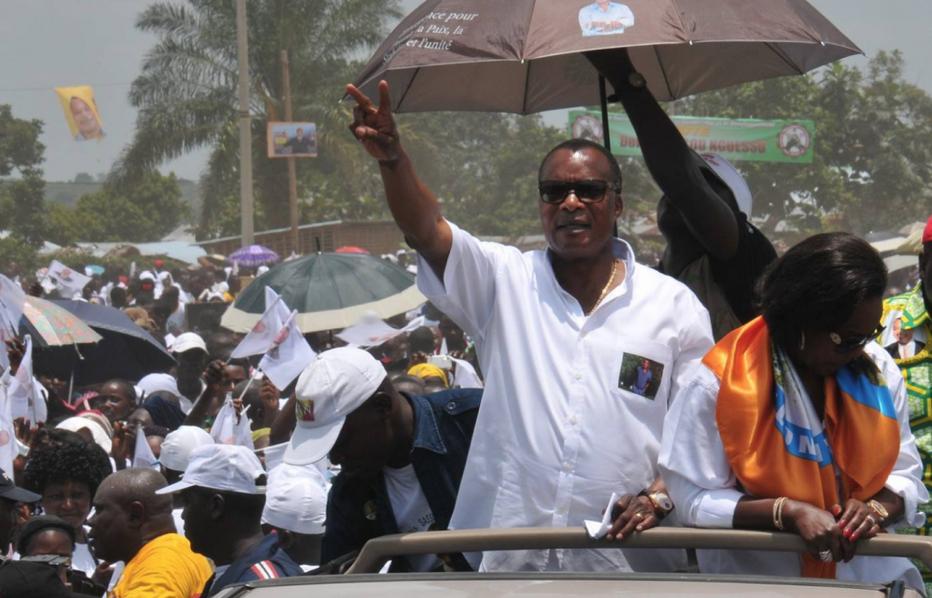 Le président Denis Sassou N'guesso