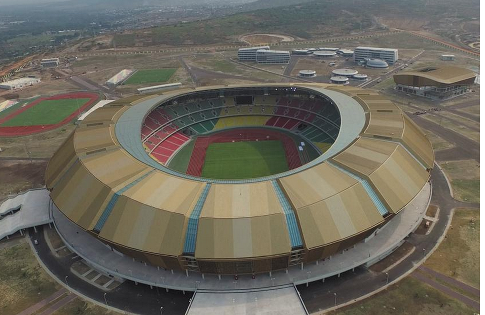 Le complexe sportif de Kintélé à Brazzaville