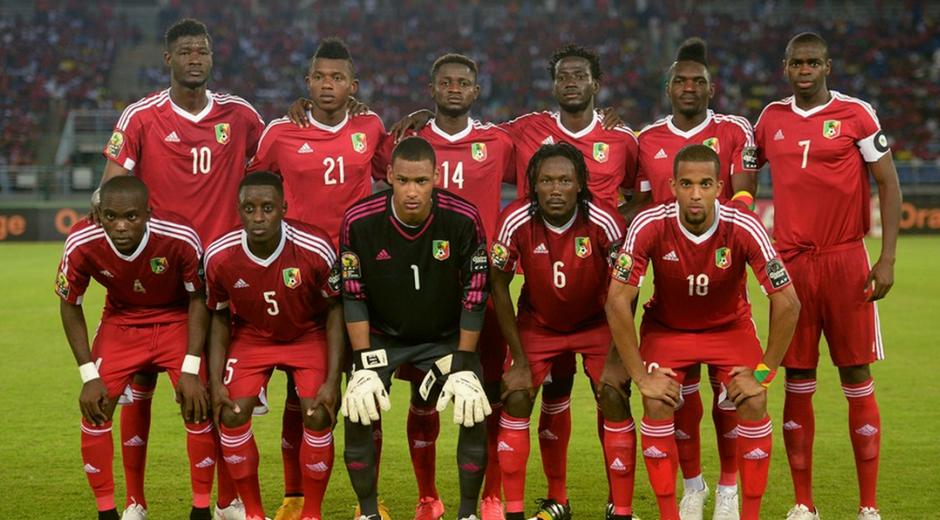 L'équipe du Congo lors de la CAN 2015| DR
