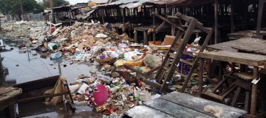 Pointe Noire – Siafoumou : la population déplore l'insalubrité du marché