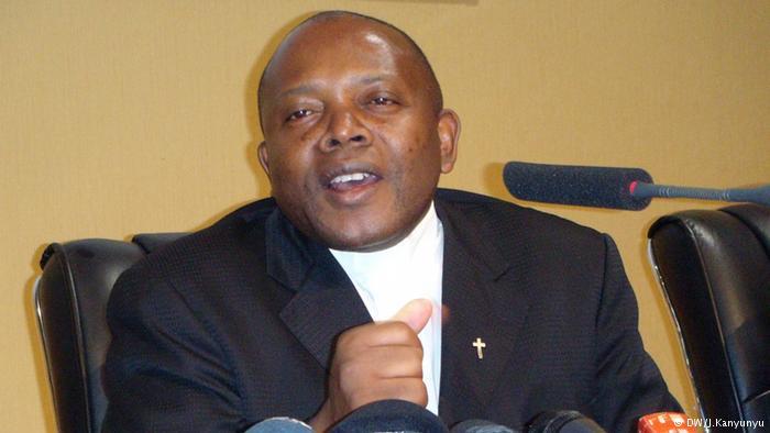 l'Abbé Malu Malu, ancien président de la Ceni en RDC