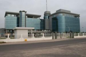 La Maison de la radio et de la télévision à Kombo
