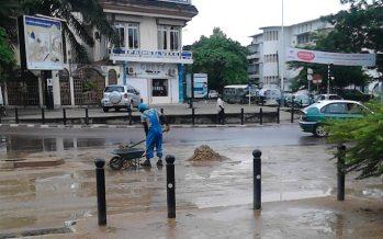 Une grande pluie fait des dégâts à Brazzaville