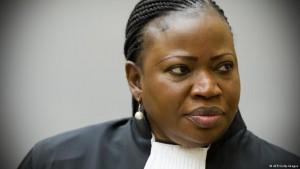 La procureure de la Cour pénale internationale (CPI) Fatou Bensouda