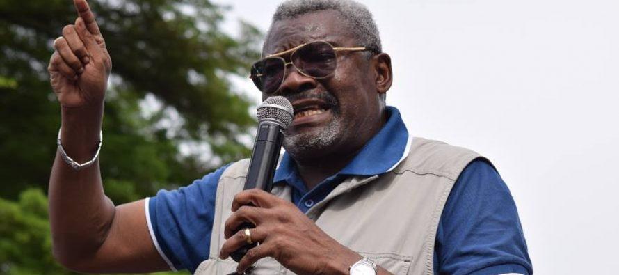 Congo : La «désobéisance civile» c'est dans une semaine, selon Charles Zacharie Bowao