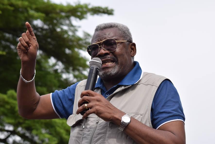Charles Zacharie Bowao, ancien ministre de la Défense et aujourd'hui président de l'IDC-Frocad, la principale plateforme de l'opposition|© DR
