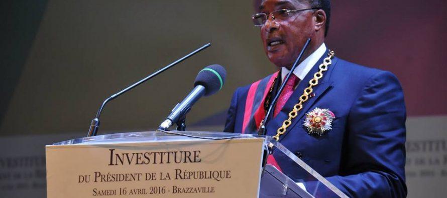 L'intégralité du discours d'investiture de Denis Sassou N'Guesso, le 16 avril 2016