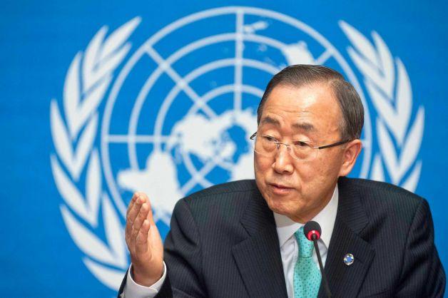 Ban Ki Moon, secrétaire général de l'ONU