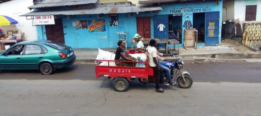 Pointe-Noire : Les motos tricycles ont remplacé les pousses-Pousses
