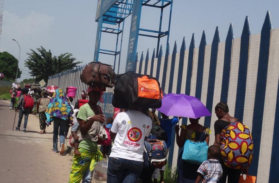 Les populations fuyant leurs domiciles, Le 4 avril 2016|DR
