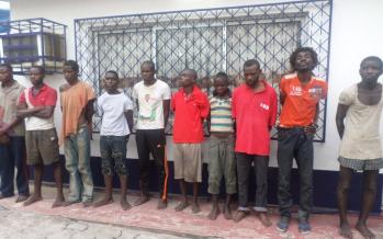 Troubles de lundi à Brazzaville : 55 suspets présentés à la presse