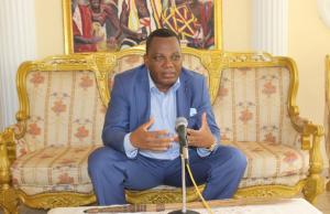Jean-Claude Gakosso, le ministre des Affaires étrangères de la République du Congo