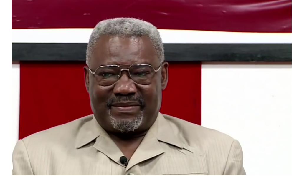 Charles Zacharie Bowao, ancien ministre de la Défense et aujourd'hui président de l'IDC-Frocad, la principale plateforme de l'opposition| © Capture d'écran/Youtube