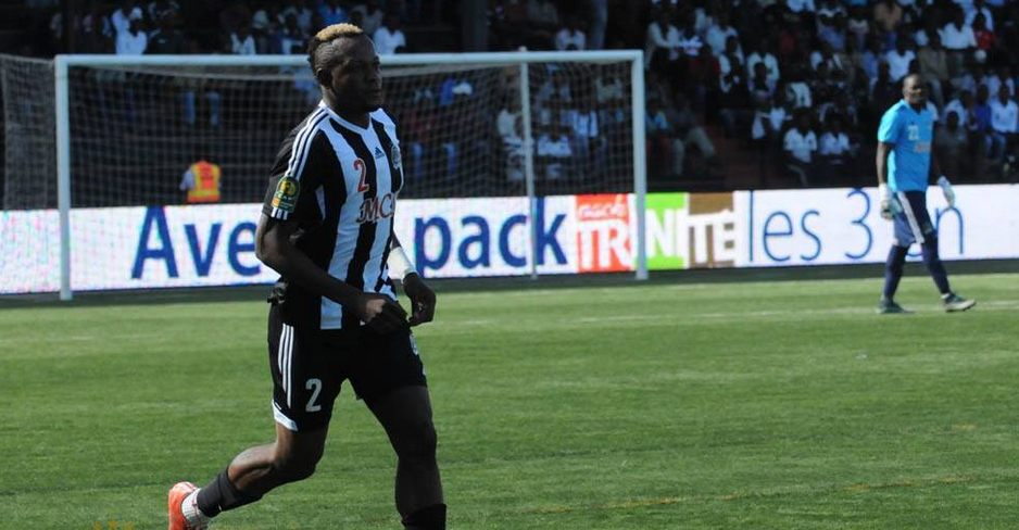 L'international congolais et capitaine du Tp Mazembe, Joel Kimwaki
