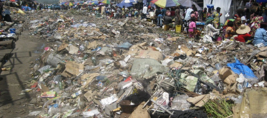Pointe-Noire : les immondices dans certains marchés de la ville océane inquiètent