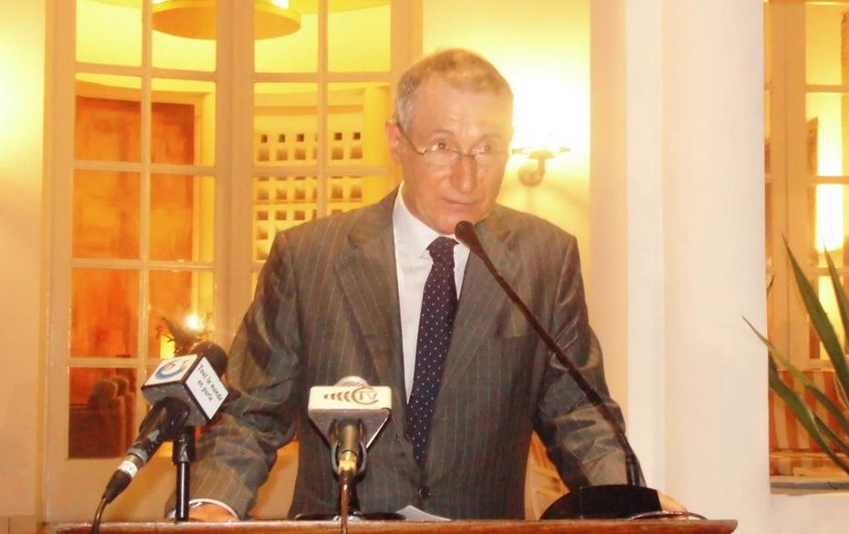 L'ambassadeur de France au Congo, Jean-Pierre Vidon