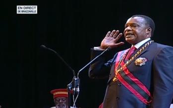 EN IMAGES – Congo :  le président Sassou Nguesso a prêté serment