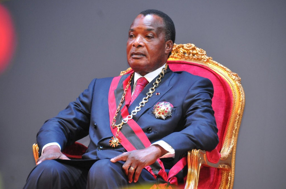 Le président congolais Denis Sassou Nguesso a prêté serment samedi à Brazzaville