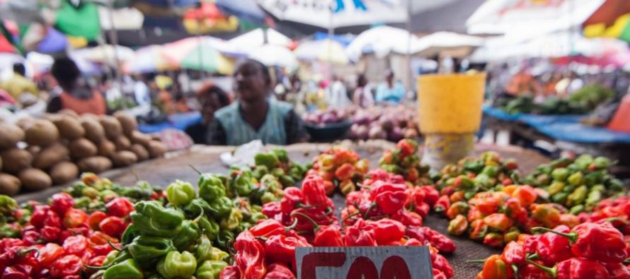 Au grand marché de Kinshasa, «même le prix du piment a augmenté»