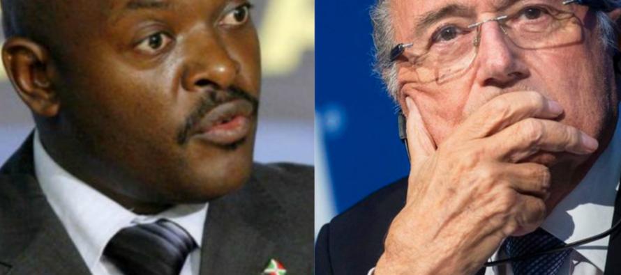 Burundi: Sepp Blatter avait proposé à Nkurunziza d'être ambassadeur de football en vain