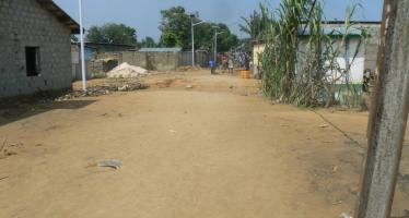 Brazzaville – Pluies diluviennes : la rue Eko à Talangaï coupée de la circulation