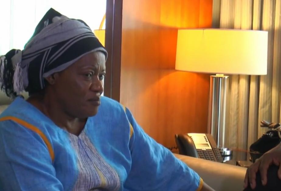 La veuve de Papa Wemba, Marie Rose dit maman Amazone| © Capture d'écran/Youtube