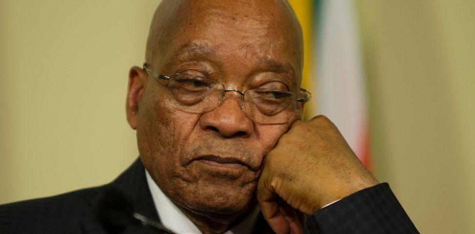 Le président Jacob Zuma