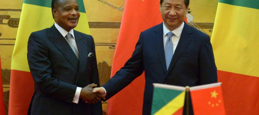 Le président chinois Xi Jinping félicite  Sassou Nguesso pour sa réélection