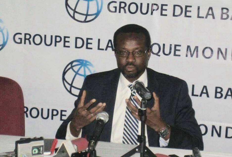 Le représentant résident de la Banque mondiale au Congo, Djibrilla Issa