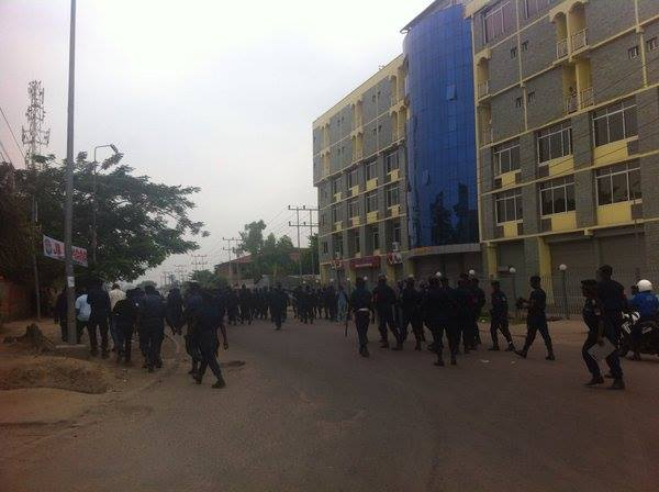 La police congolaise a dispersé jeudi à la mi-journée une manifestation d'opposants au président Joseph Kabila à Kinshasa|©DR