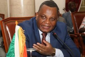 Le ministre congolais des Affaires étrangères Jean Claude Gakosso