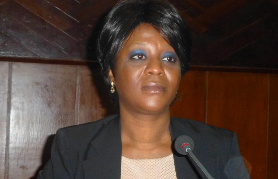 Arlette Soudan-Nonault, la nouvelle ministre du Tourisme et Loisirs