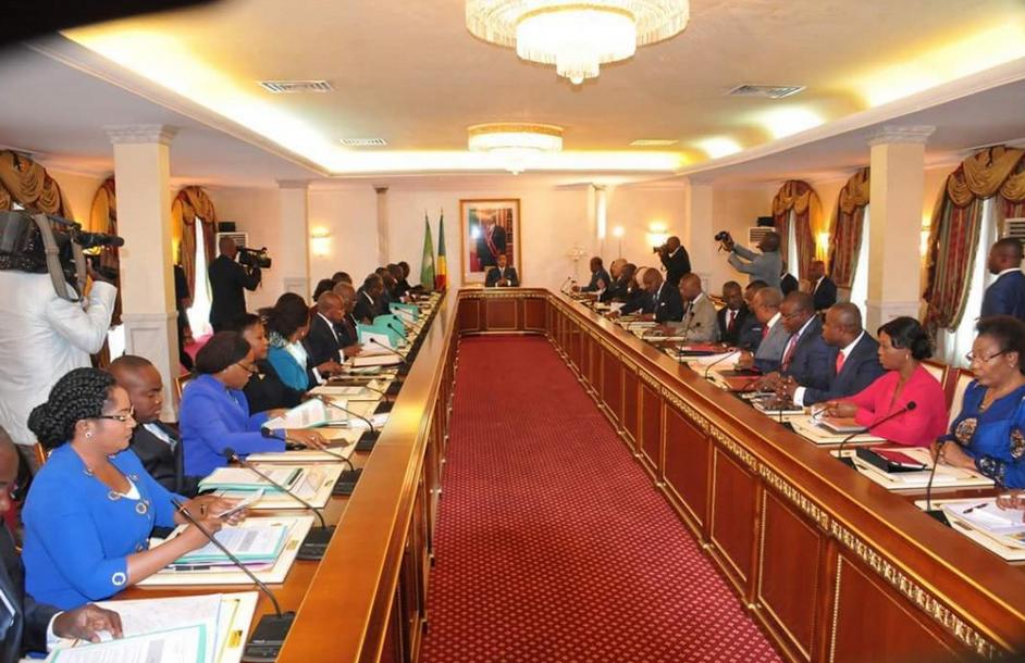 Congo gouvernement de Sassou