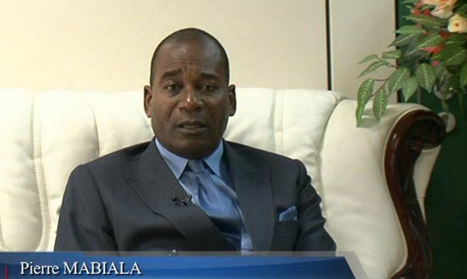 Le ministre Pierre Mabiala