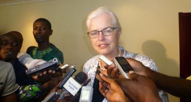 Congo: l'Union Européenne ne rappellera pas sa représentante, Saskia De Lang