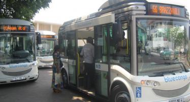Congo : Le Transport en commun assuré par de nouveaux bus électriques à Brazzaville
